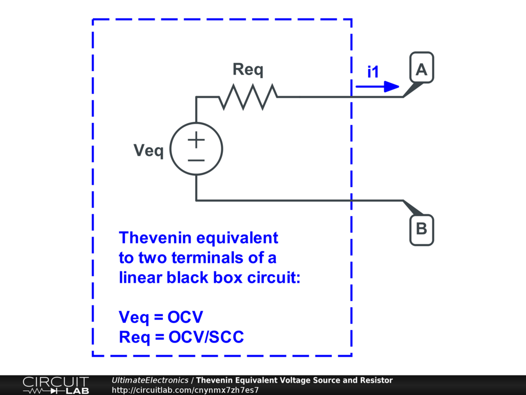 Thevenin Equivalent And Norton Circuits Ultimate Above Short Circuit To Ground The