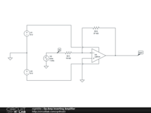 Op-Amp Inverting Amplifier