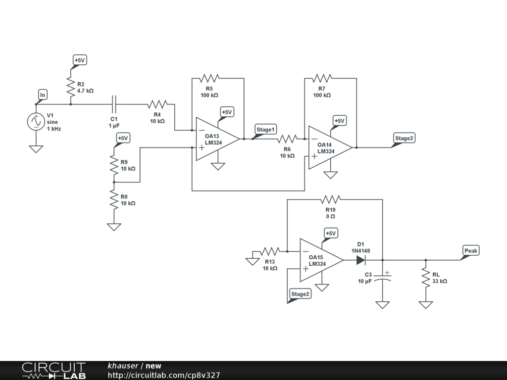 Op Amp Peak Detector Audio Electronics Circuitlab Circuit Diagramscircuitlab Online Schematic Editor My Is The