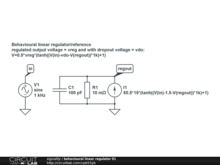behavioural linear regulator 01