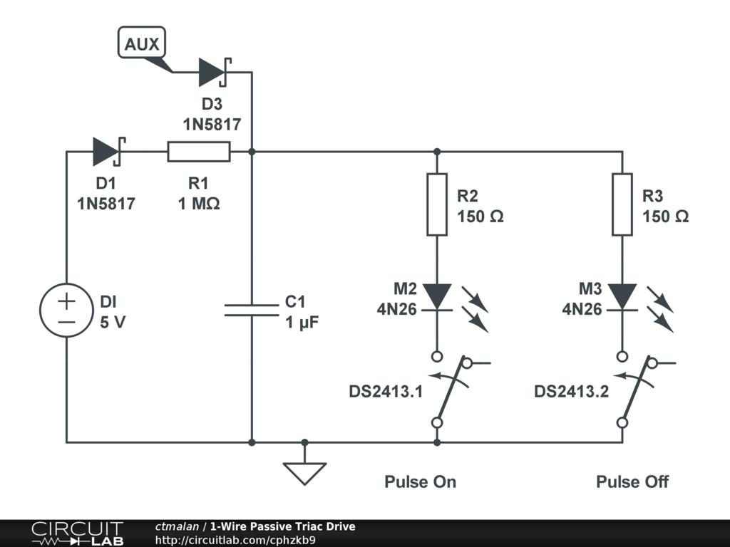 Flip Flop Circuitlab Opto Triac Circuit See For