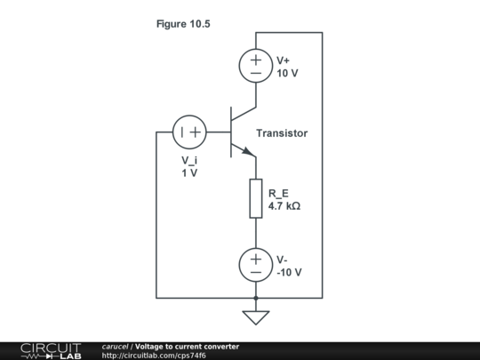 voltage to current converter