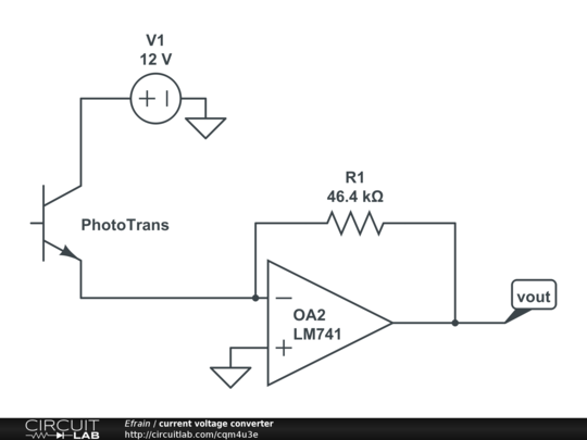 current voltage converter