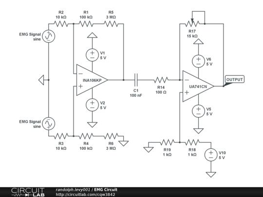 Emg Lab Schematic - Wiring Diagram Progresif