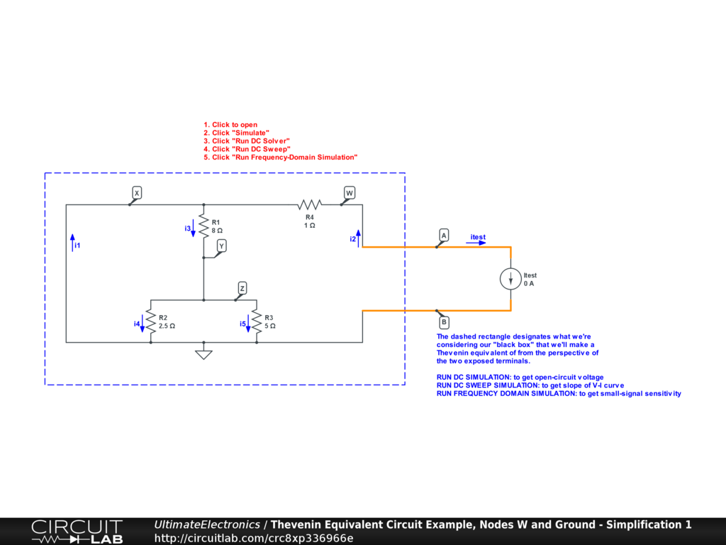 Thevenin Equivalent And Norton Circuits Ultimate Eq Wiring Diagram Interactive