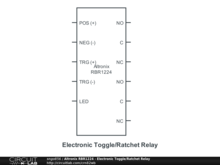 altronix relays wiring diagrams altronix rbr1224 electronic toggle ratchet relay circuitlab  altronix rbr1224 electronic toggle