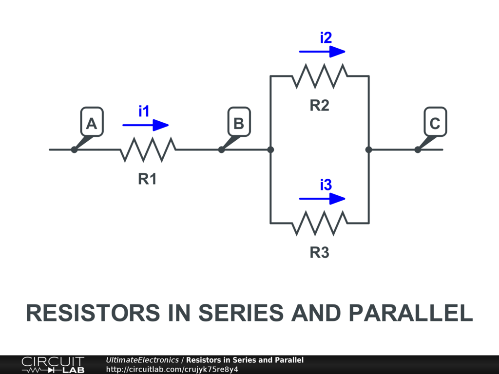 Resistors In Series Parallel Ultimate Electronics Book And Wiring Diagram The