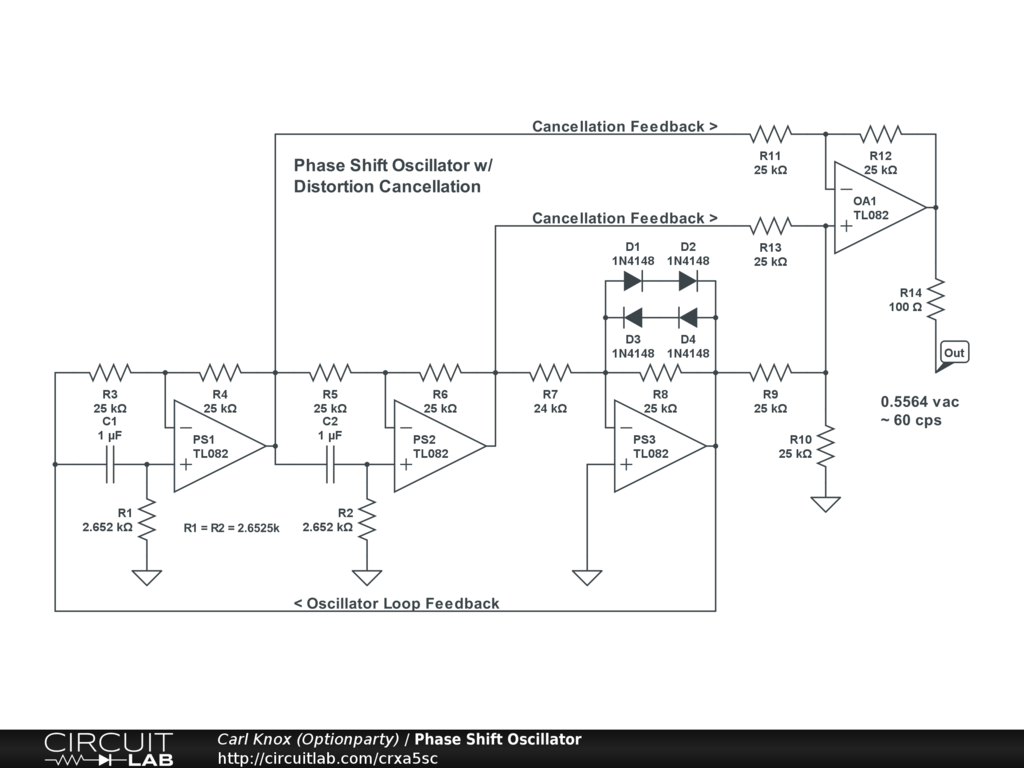 Phase Shifter Schematic Wiring Diagram Data Mini Audio Amplifier Circuit With Parts List Images Frompo Public Circuits Tagged Shift Circuitlab Electrical