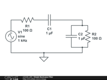 Simple Band-pass Filter