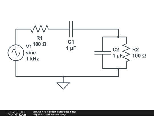 Simple Band-p Filter - CircuitLab on filter capacitor, filter data, filter information, filter assembly, filter symbol, filter diagram, filter scheme, filter drawing, filter results, filter parts, filter box, filter electrical,