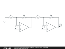 Instrumentation Amplifier (Two Op Amp Topology)