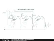 EE2310 Lab 3 4-Bit PISO Shift Register