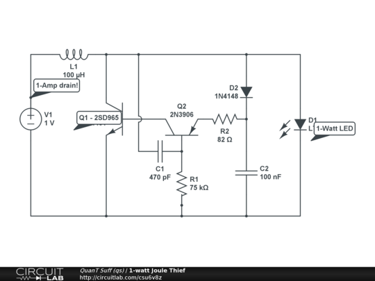 Circuits Diagrams | Led Circuit Diagram Joul Theif Wiring Diagrams Schematic