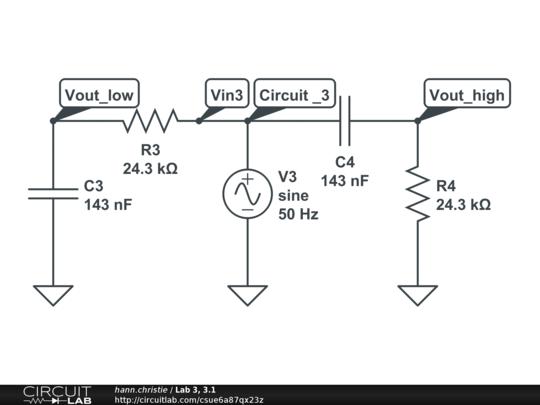 Lab 3, 3.1 - CircuitLab