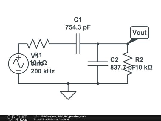 510 rc passive test