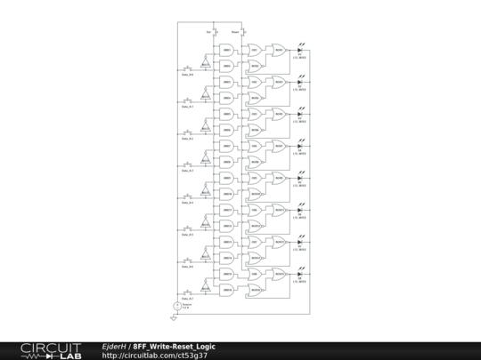 8ff write-reset logic
