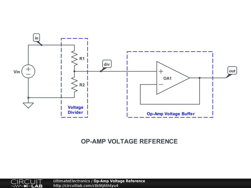 Op-Amp Voltage Reference