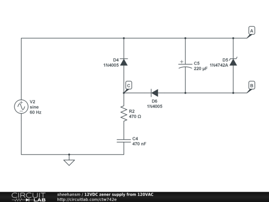 120vac generator wiring diagram 120vac schematic wiring 12vdc supply from 120vac - how does it work? - basic ...