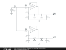Op-amp low-pass/high-pass analysis