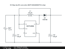 5V Step Up DC converter