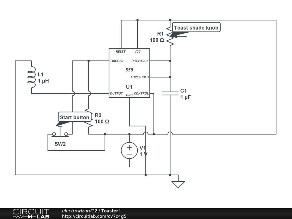 Toaster Wiring Schematic | Wiring Diagram on