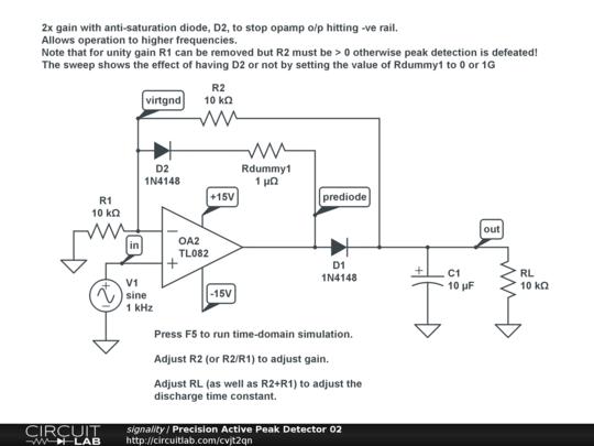 precision active peak detector 02 circuitlab rh circuitlab com