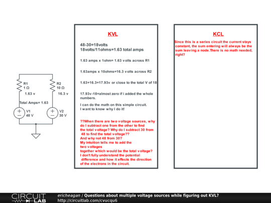 Voltage sources in parallel multiple 2 Voltage