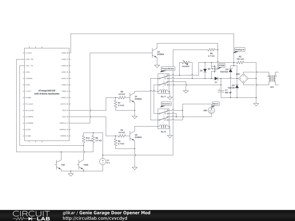Diagram As Well As Series Circuit Diagram Along With Genie Intellicode