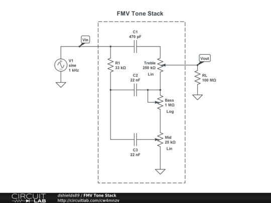 FMV Tone Stack - CircuitLab