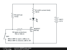 MOSFET power output