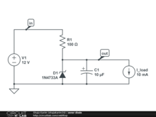Zener Diode Voltage Refrence
