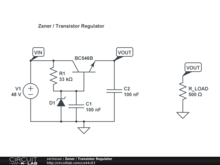 Zener / Transistor Regulator