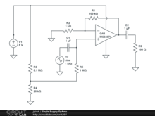 Single Supply OpAmp