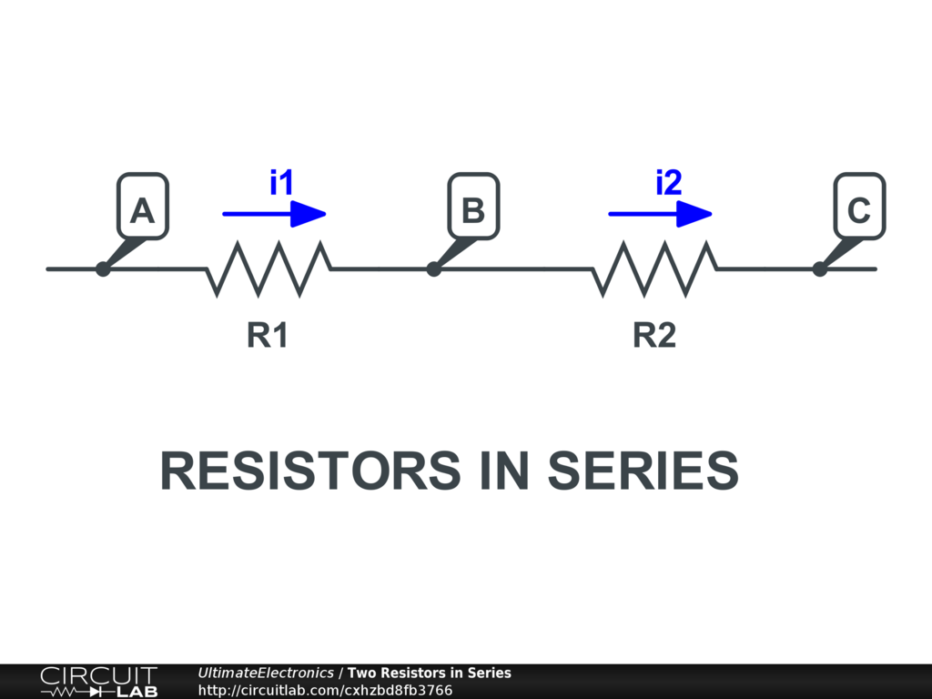 Resistors In Series Parallel Ultimate Electronics Book The Combined Resistance Of Is Sum All Vabi1r1vbci2r2