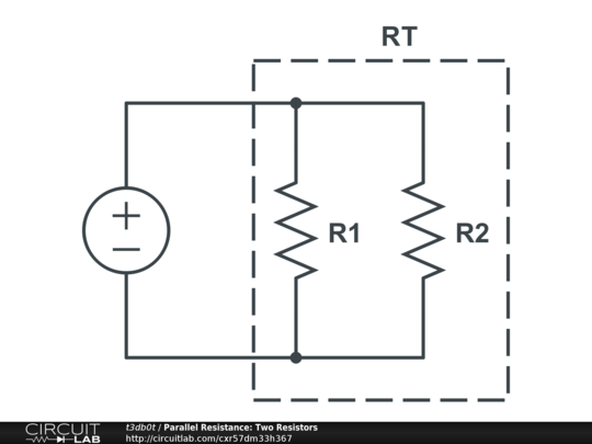 parallel resistance  two resistors