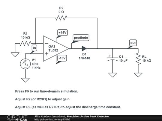 High Power Rf Detector Circuit Electrical Engineering Stack Exchange