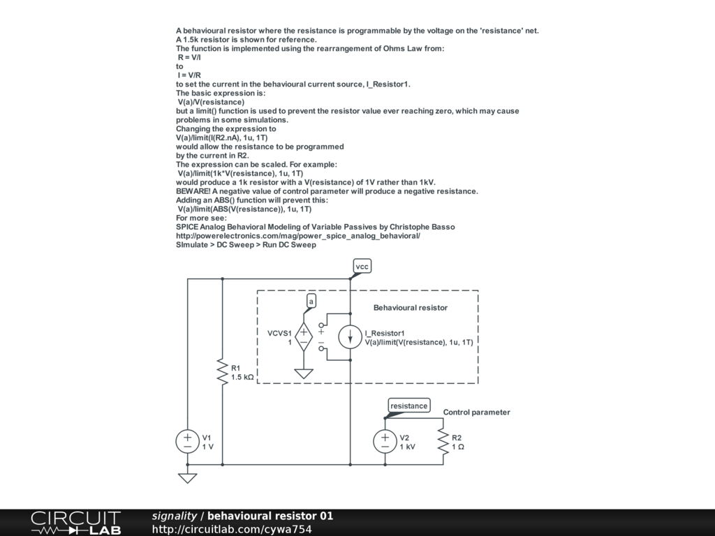 Wheres The Ohmmeter Circuitlab Support Forum Parallel Resistance Circuit For Info