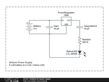 Arduino 9v power supply