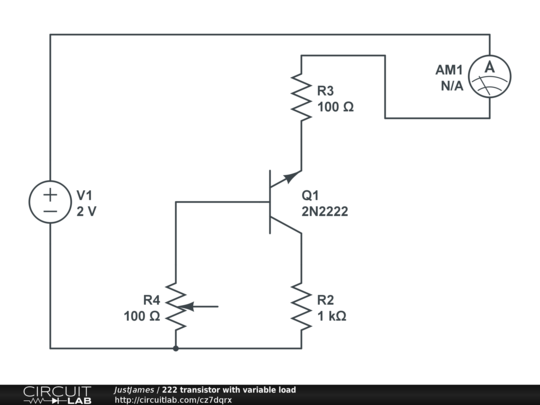 online simulation of a load cancellation circuit