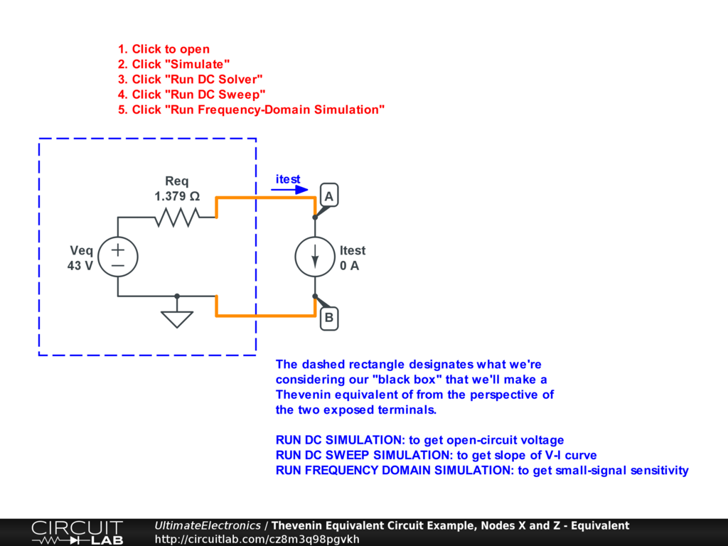 Thevenin Equivalent And Norton Circuits Ultimate Learn About Theorem Dependent Source Circuit Interactive
