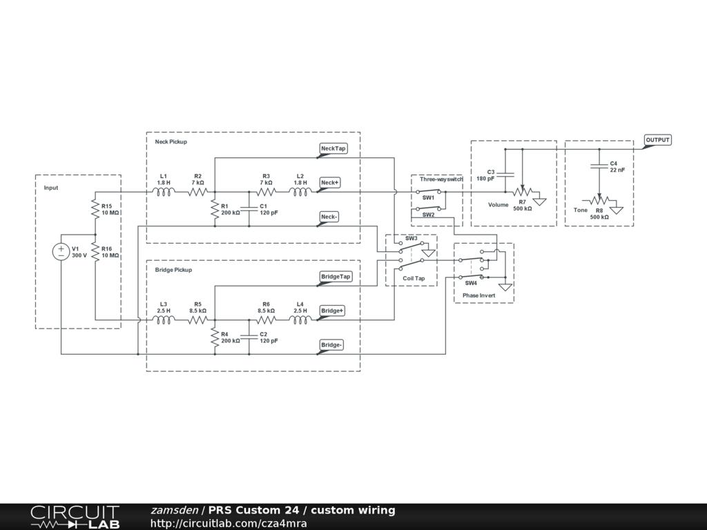 prs custom 24 custom wiring circuitlab prs se custom 24 wiring diagram at virtualis.co