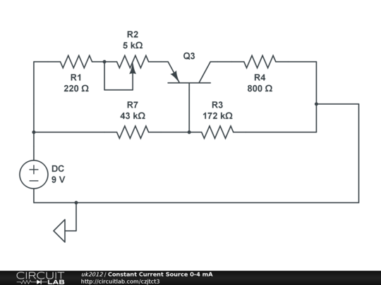 constant current source 0-4 ma