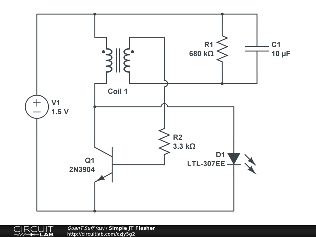 Qss Profile Circuitlab White Led Driver Circuit Diagram Hi Watt Simple Jt Flasher