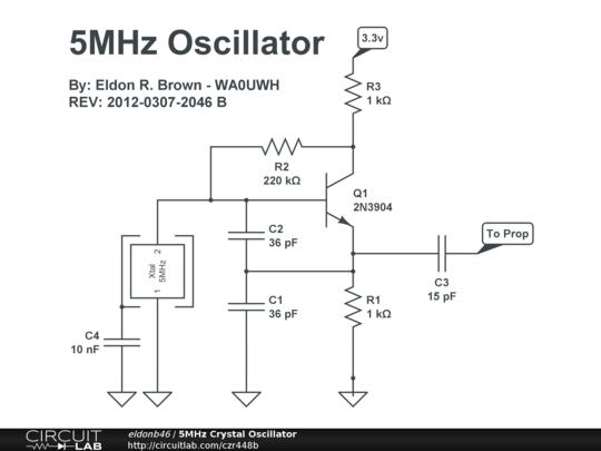 5mhz Crystal Oscillator Circuitlab