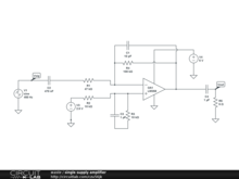 single supply amplifier